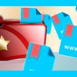 Кнопка «Добавить сайт в закладки»