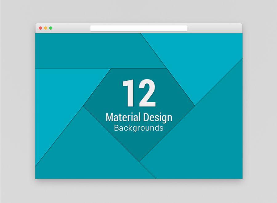 12 Бесплатных Material Design промо фонов
