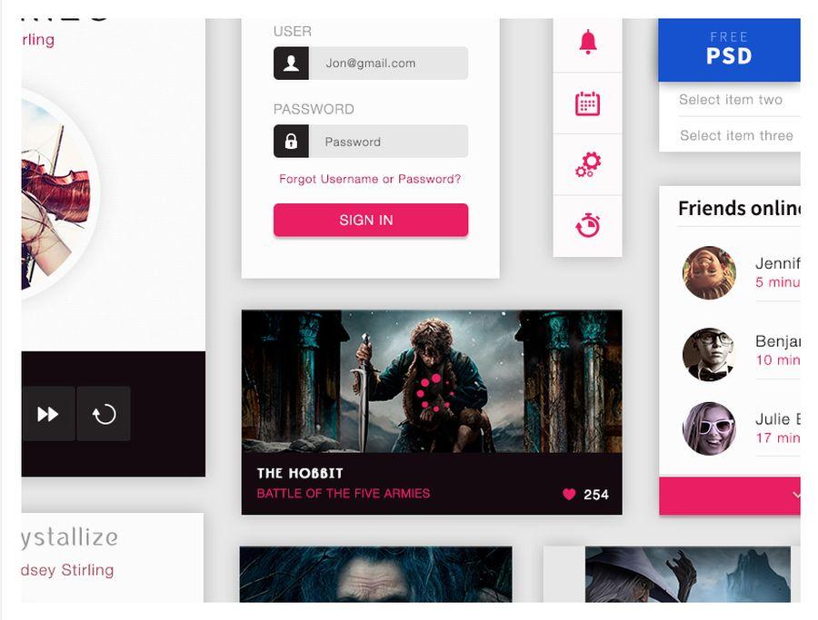 Crystallize - бесплатный набор UI элементов для создания музыкальных приложений