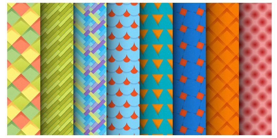 Бесплатный набор плиточных фонов Material Design