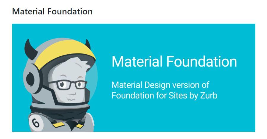 Бесплатный фреймворк Material Foundation