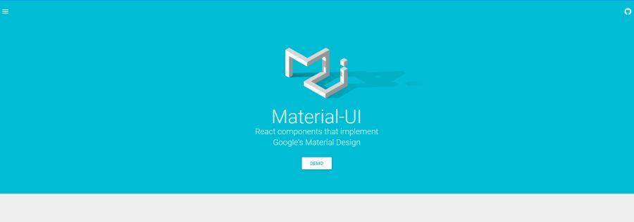 Бесплатный фреймворк Material-UI